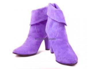Покраска обуви из замши или нубука