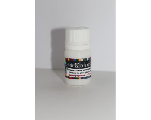Varnish for glass - 15 gr