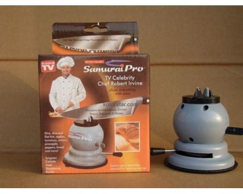 Kitchen sharpener for knives and scissors Samurai Pro - sharpen everything!