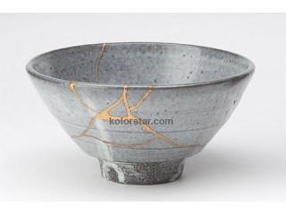 Adhesive for ceramics - restoration assistance